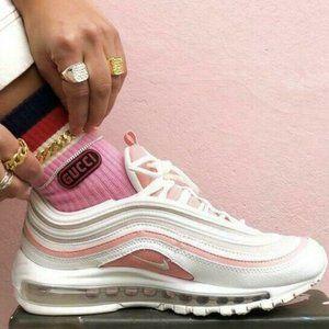 🆕Nike Air Max 97 Sneaker Road Running Shoe Pink